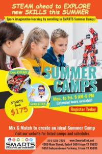 summer camp frisco