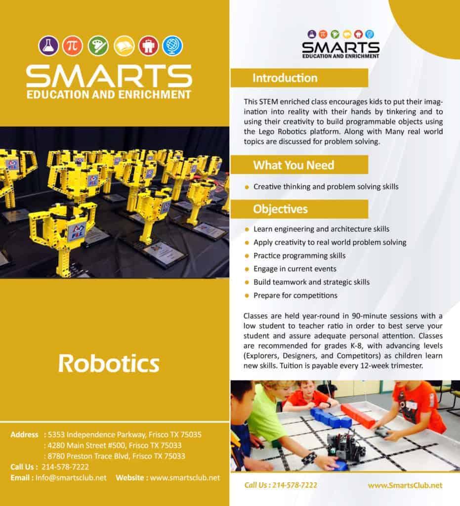 Robotics For Kids In Frisco Robotic Classes Robotics Programs