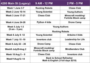 summer Camps in frisco