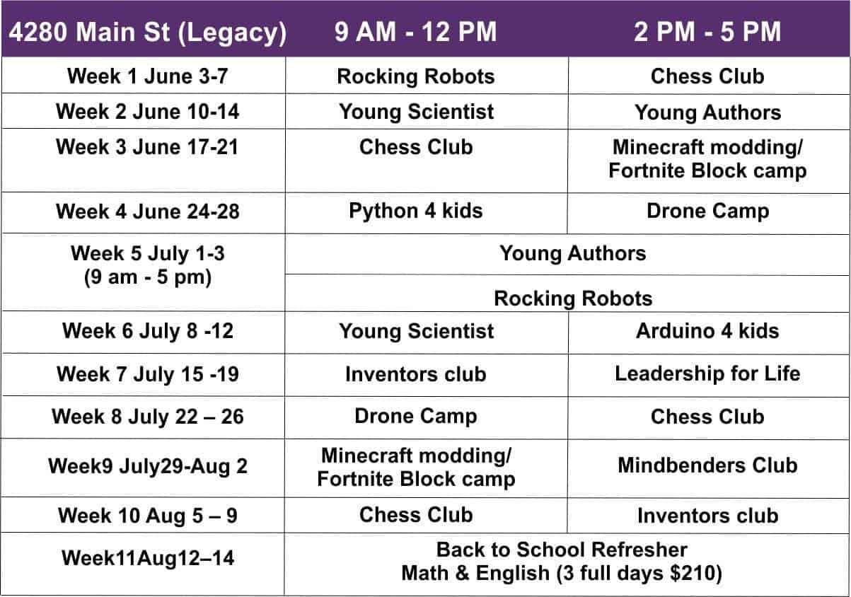 McKinney Summer programs for kids