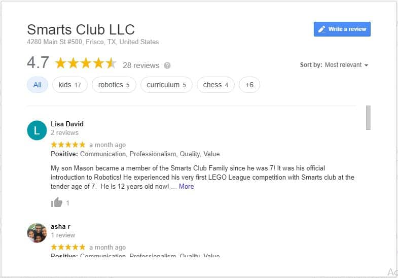 Google Reviews Main