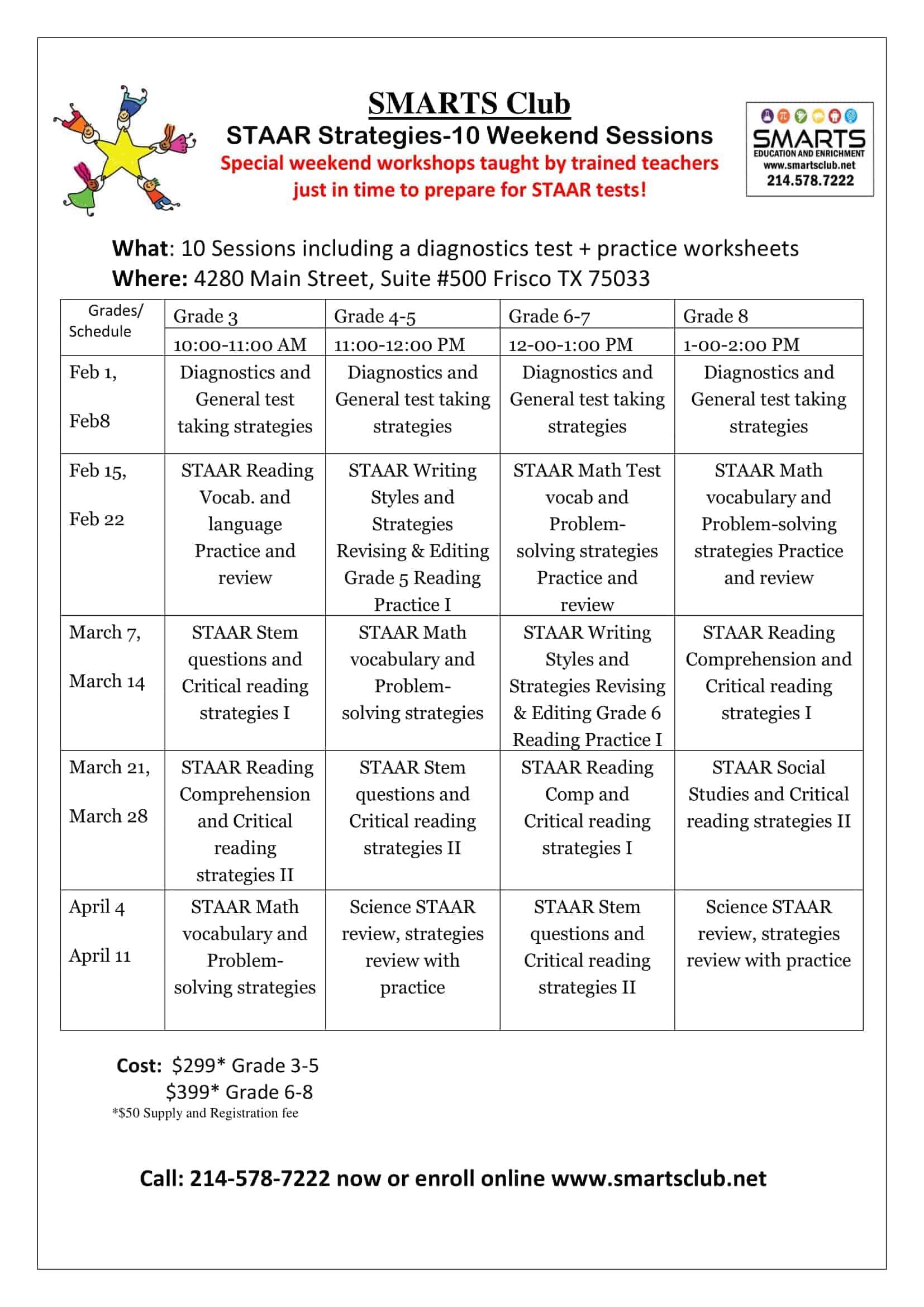 staar strategies workshop