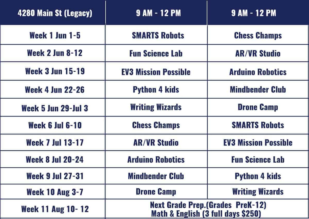 Allen STEM Summer Camps