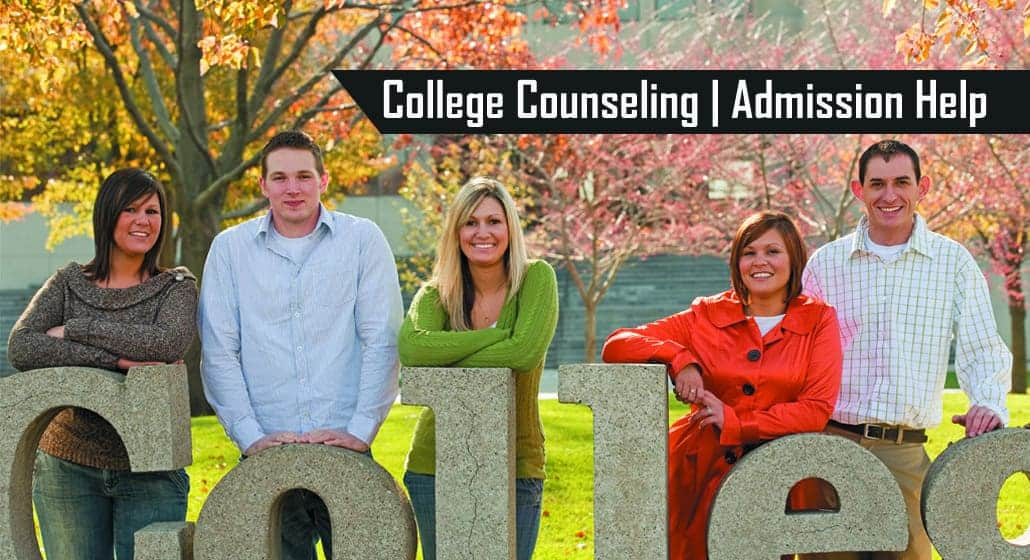 College Counseling and Admission Help