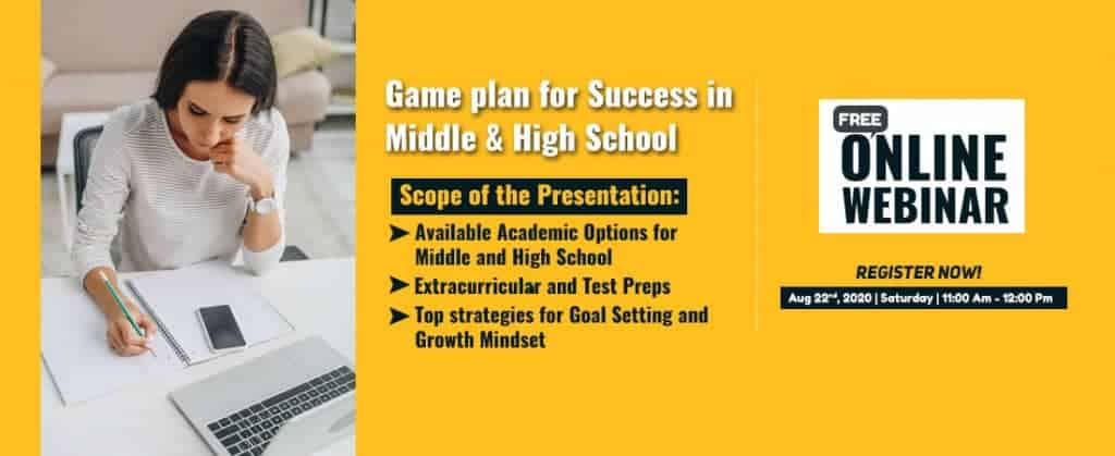 Game Plan for Ms and HS